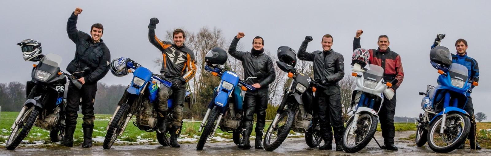 Jeremy, Matthias, Fabian, Johannes, Michael, Markus - Startnummer 49